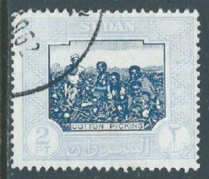 Sudan, Sc #105, 2pi Used