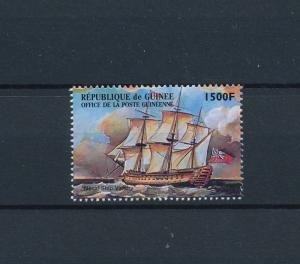 [81267] Guinea 1998 Ships Boats Victory Lord Nelson from sheet MNH