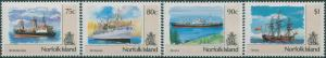 Norfolk Island 1990 SG489-492 Ships MNH