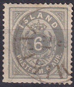 Iceland #10 Used  CV $35.00  (Z6437)