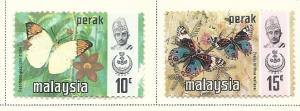 Malaya - Perak #150-151 (M&U) CV $1.75