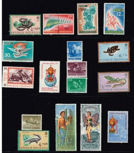 INDONESIA STAMP MINT NH STAMPS COLLECTION LOT