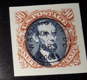[SOLD] USA 90c 1989 first day single -orange