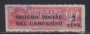 Ecuador # RA34, Postal Tax Overprint, Used