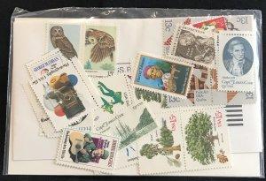 US 1978 Approx 28 Commemoratives #1731/1769 MNH SCV $4.20 L35