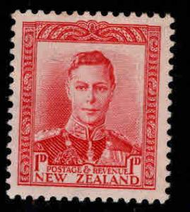 New Zealand Scott 227 MH* 1938 1p rose red stamp