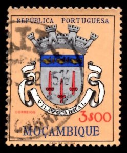 Mozambique 1961 Vila Cabral, Coat of Arms 3e Scott.416 Used (#6)