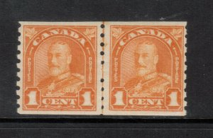 Canada #178i Very Fine Never Hinged Line Pair