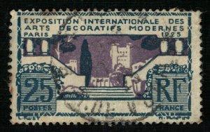France, 1925, International Modern Art Exhibition, SC #223 (4187-T)
