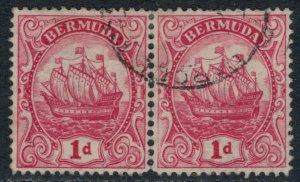 Bermuda #83a pair  CV $15.00