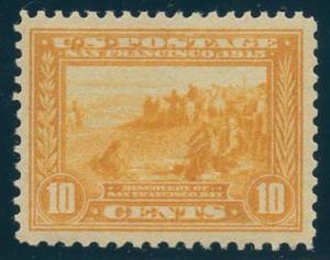 US Scott #400 Mint, VF, Hinged
