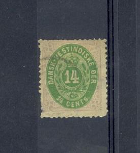 Danish West Indies Scott 12     [ID#431655]