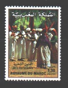 Morocco. 1981. 963. Musical folk group. MNH.