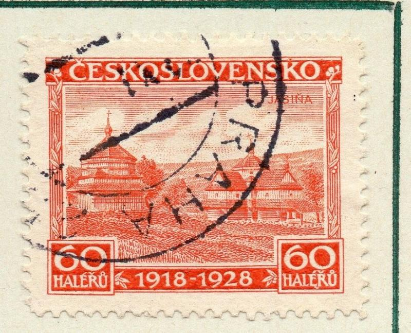 Czechoslovakia 1928 Early Issue Fine Used 60h. 230252