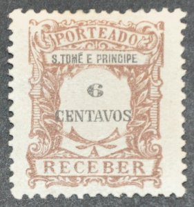 DYNAMITE Stamps: St. Thomas & Prince Islands Scott #J47 – MINT hr