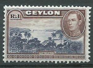 Ceylon George VI  SG 395  MLH