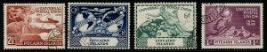 PITCAIRN ISLANDS SG13/6 1949 75th ANNIV OF U.P.U. FINE USED