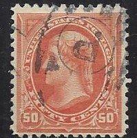 United States 260 Very Nice Stamp