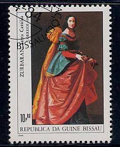 Guinea-Bissau Scott # 555, used