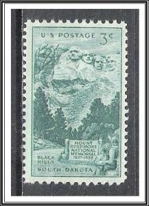 US #1011 Mount Rushmore MNH