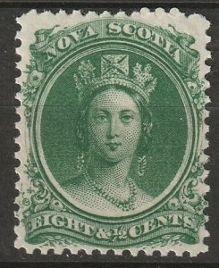 Nova Scotia 1860 Sc 11a MNH**