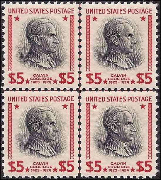 834 Mint,OG,NH.. Centerline Block of 4... PSE Cert... SCV $375.00