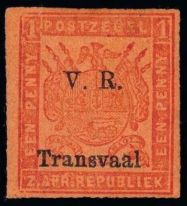 Transvaal Scott 94a Gibbons 150b Mint Stamp