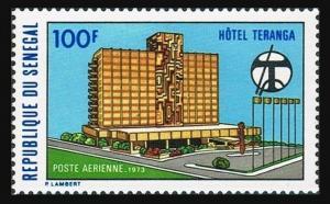 Senegal C120,MNH.Michel 519. Hotel Teranga,Dakar,1973.