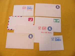 CANAL ZONE POSTAL STATIONARY COLLECTION, MINT, ENTIRES