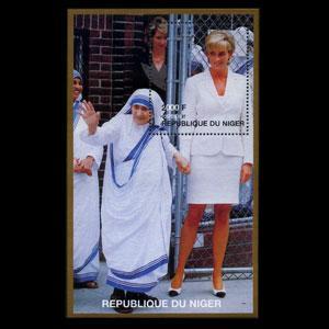 NIGER 1997 - Scott# 946 S/S Diana NH