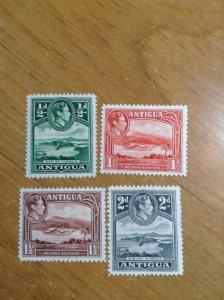 Antigua  # 84-87  MH