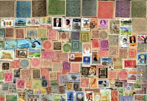 500 INDIAN STATE  Stamps Including NEPAL  ALL DIFFERENT  (C78)