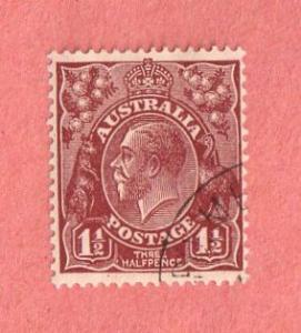 AUS SC #115 1936 King George V CV $15