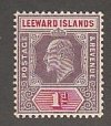 LEEWARD ISLAANDS #30 MINT HINGED