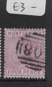 Montserrat SG 12 VFU (3dte)