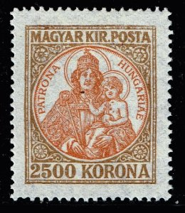 HUNGARY STAMP 11925 New Values 2500KR STAMP MH/OG