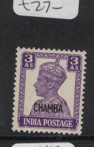 India Chamba SG 114a MNH (2dpg)