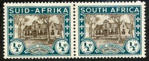 South Africa, Scott #B9, Unused, Hinged pair