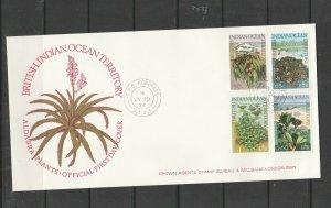BIOT FDC 1975 Wildlife, 3rd Series, Crown Agents address