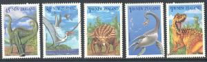 New Zealand 1180-1184a MNH - Dinosaurs