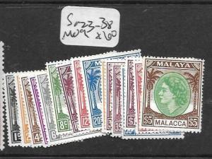 MALAYA MALACCA (P1201B) QEII SG 23-38  MOG