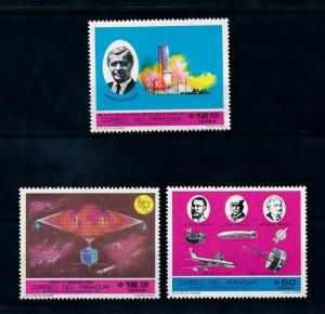 [72475] Paraguay 1969 Space Travel Weltraum Airmail Stamps MNH