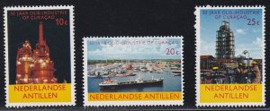 Netherlands Antilles # 292-294, Oil Refining, NH, 1/2 Cat.