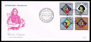 Rwanda #551 Nicolaus Copernicus First Day Cover