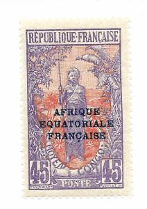 MIDDLE CONGO SCOTT 39 IN MNH CONDITION