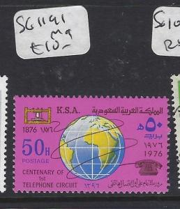 SAUDI ARABIA (PP0102B)  TELEPHONE SG 1191   MOG