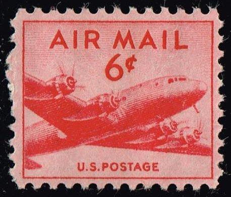 US #C39 DC-4 Skymaster; MNH (0.25)