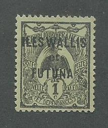 Wallis & Futuna Scott Catalog Number 1 Issued in 1920