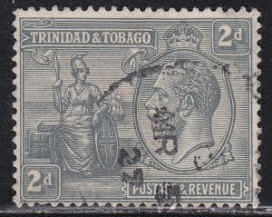 Trinidad & Tobago 24 Used 1922 Britannia & KGV