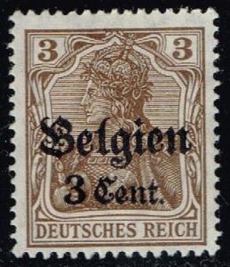 Belgium #N11 German Occupation Overprint; Unused (0.35)